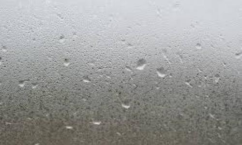 What does condensation on insulation glass mean?