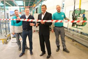 Scheuten Projects opens new, own insulation glass production line in Venlo