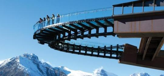 Glacier Skywalk, Alberta, Kanada